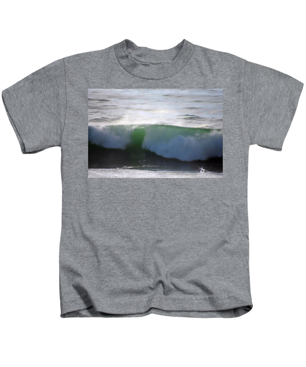 Ocean Kids T-Shirt featuring the photograph I Sea You by Donna Blackhall