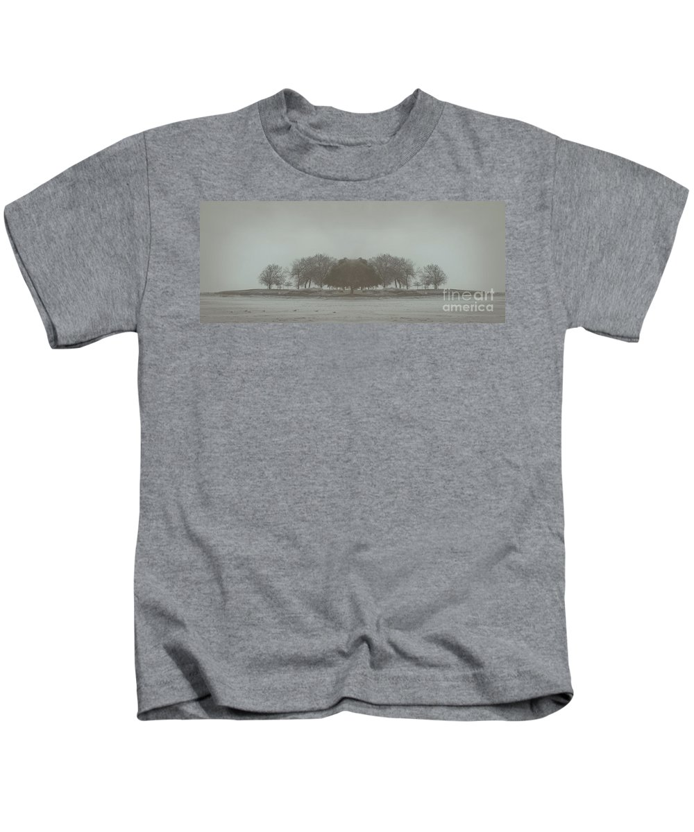 Landscape Kids T-Shirt featuring the photograph I Will Walk You Home by Dana DiPasquale