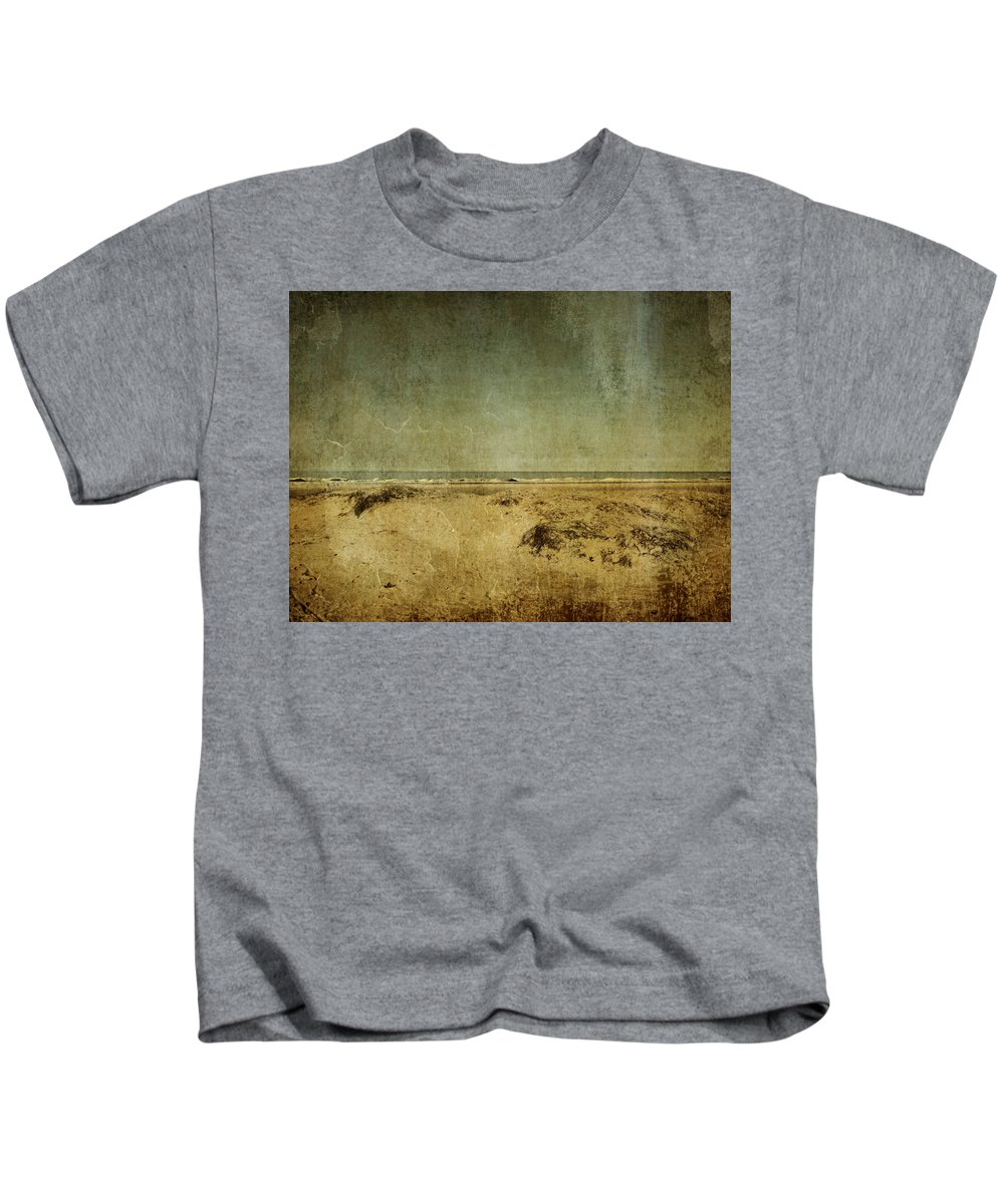Beach Kids T-Shirt featuring the photograph I Wore Your Shirt by Dana DiPasquale