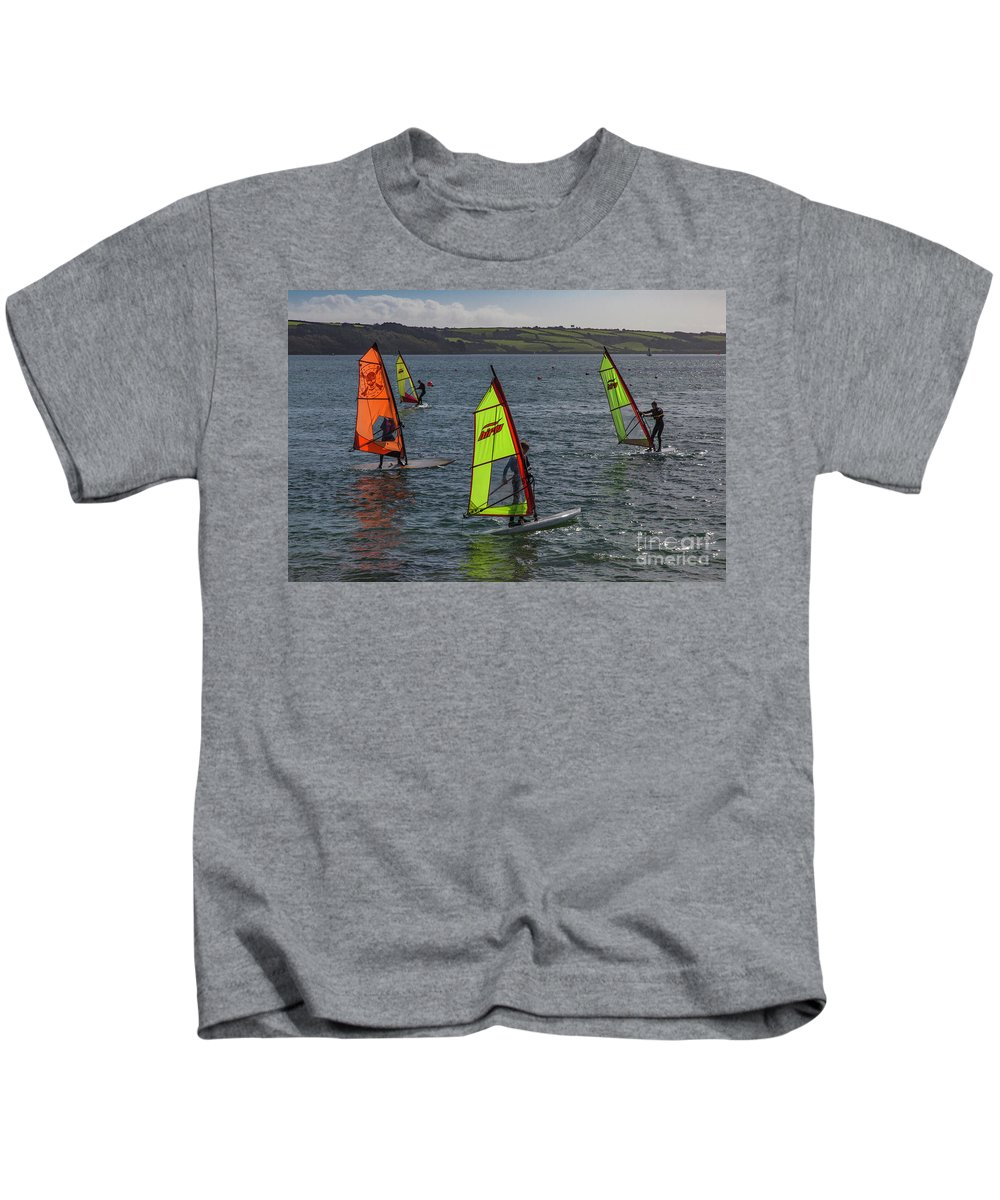 Photographs Kids T-Shirt featuring the photograph I'm Getting The Hang Of This by Brian Roscorla