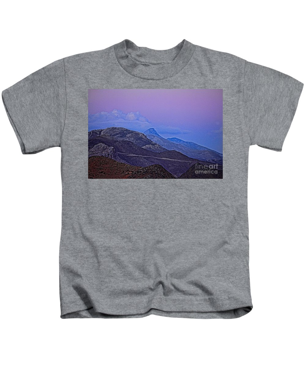 Crete Kids T-Shirt featuring the photograph In Search Of Atlantis-2 by Casper Cammeraat