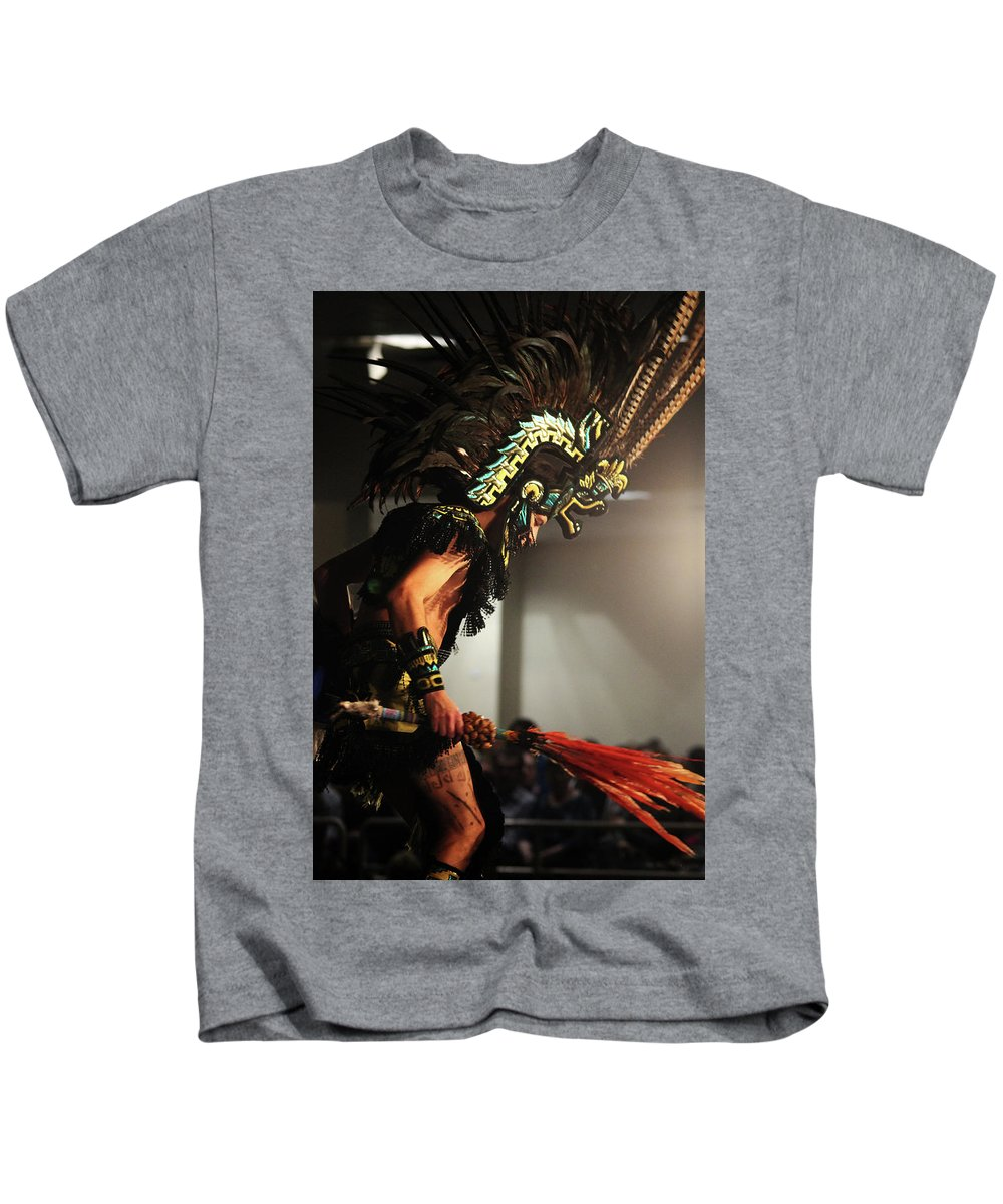 Aztec Kids T-Shirt featuring the photograph In The Moment by Samantha Burrow