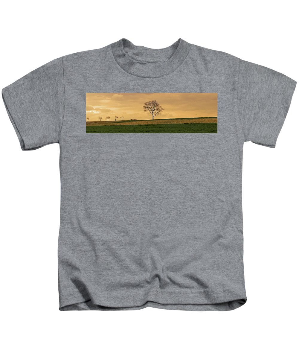 Lone Tree Kids T-Shirt featuring the photograph Inspiration by Scott Mahon