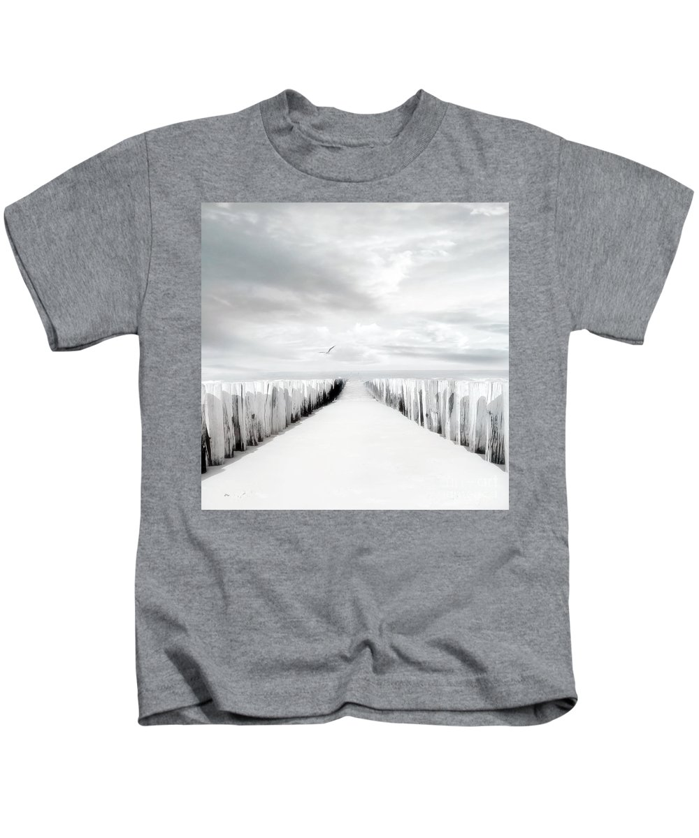 Beach Kids T-Shirt featuring the photograph Inviting by Jacky Gerritsen