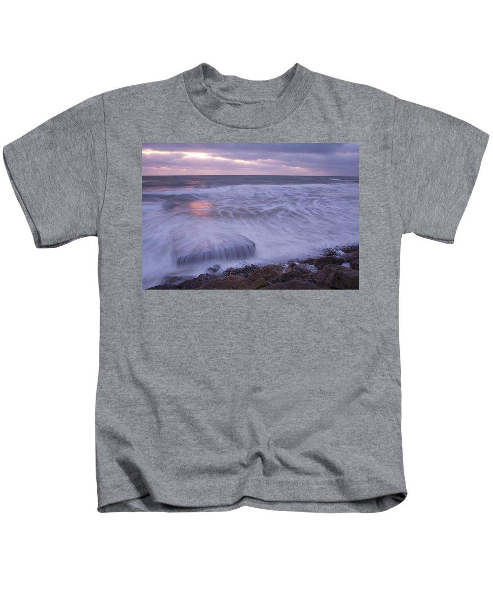Coast Kids T-Shirt featuring the photograph Irish Dawn by Ian Middleton