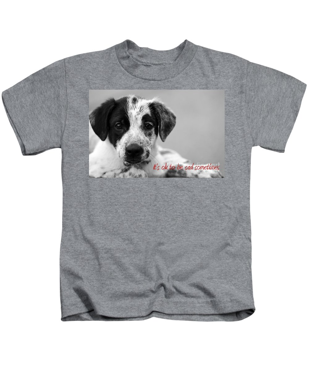 posters For Kids Kids T-Shirt featuring the photograph It by Amanda Barcon