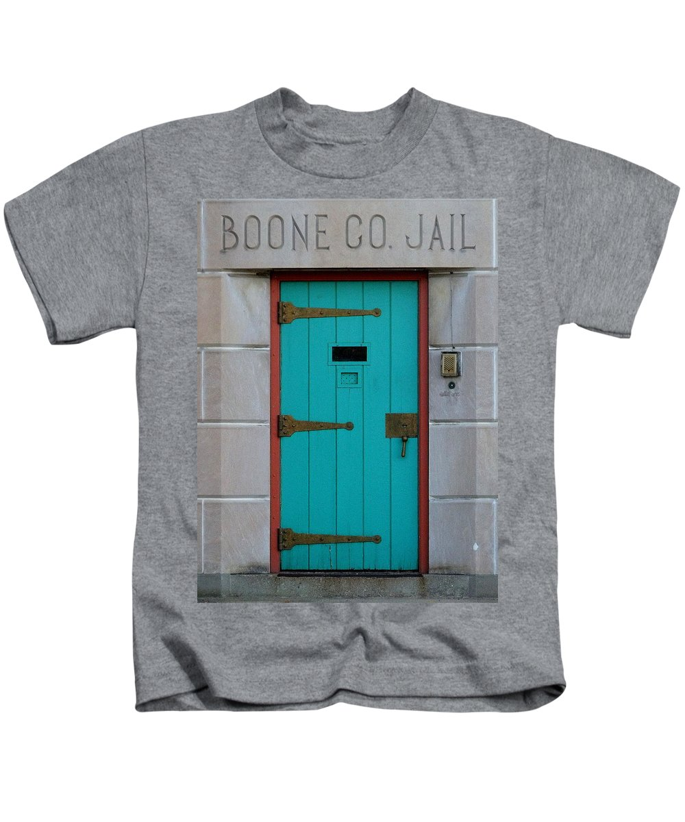 Still Life Kids T-Shirt featuring the photograph Jail For Sale by Ed Smith