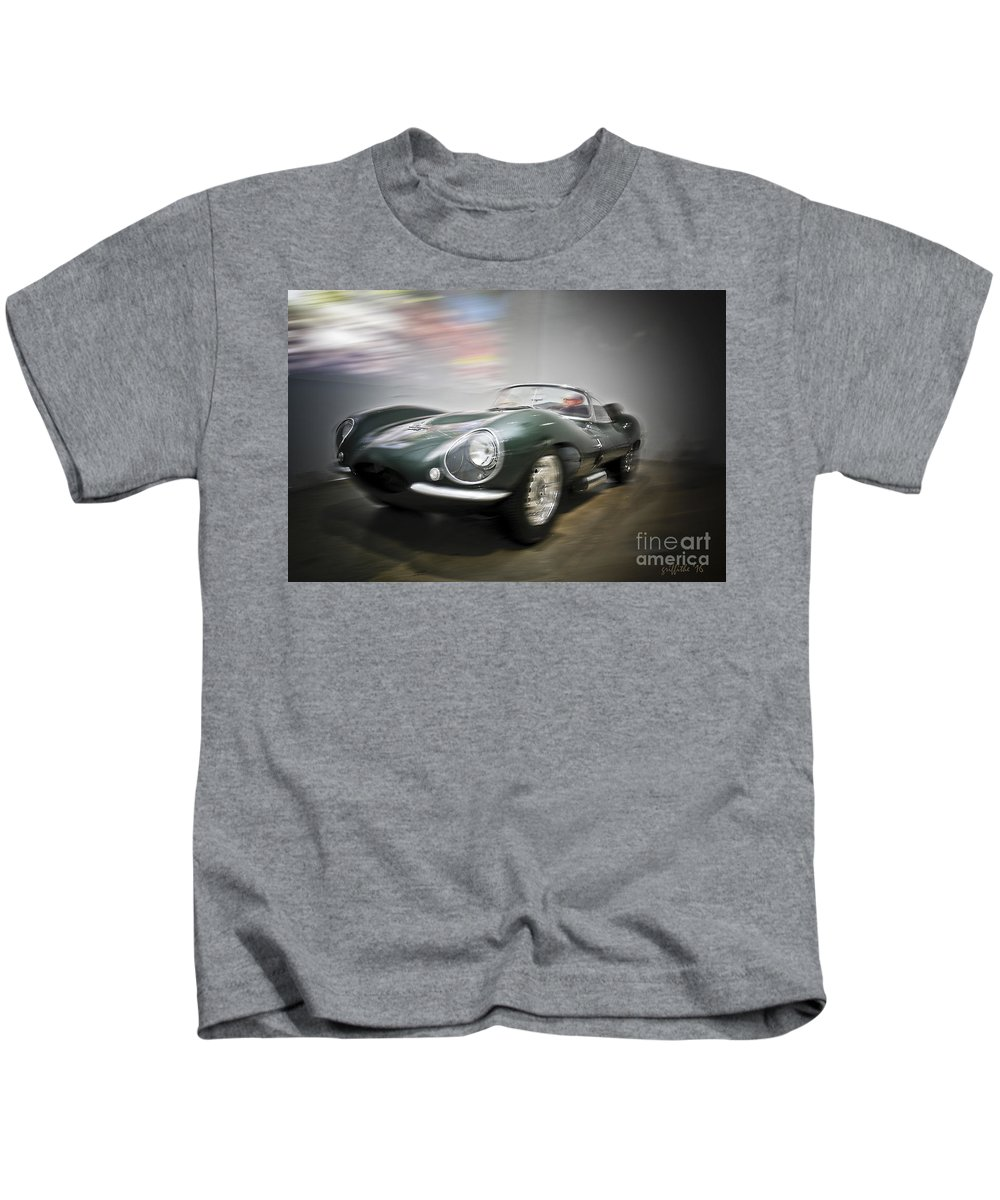 Sport Cars Kids T-Shirt featuring the photograph Joy Ride by Tom Griffithe