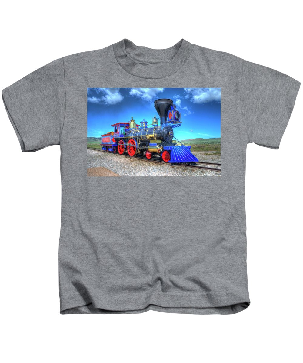 Photography Kids T-Shirt featuring the photograph Jupiter by Randy Dyer