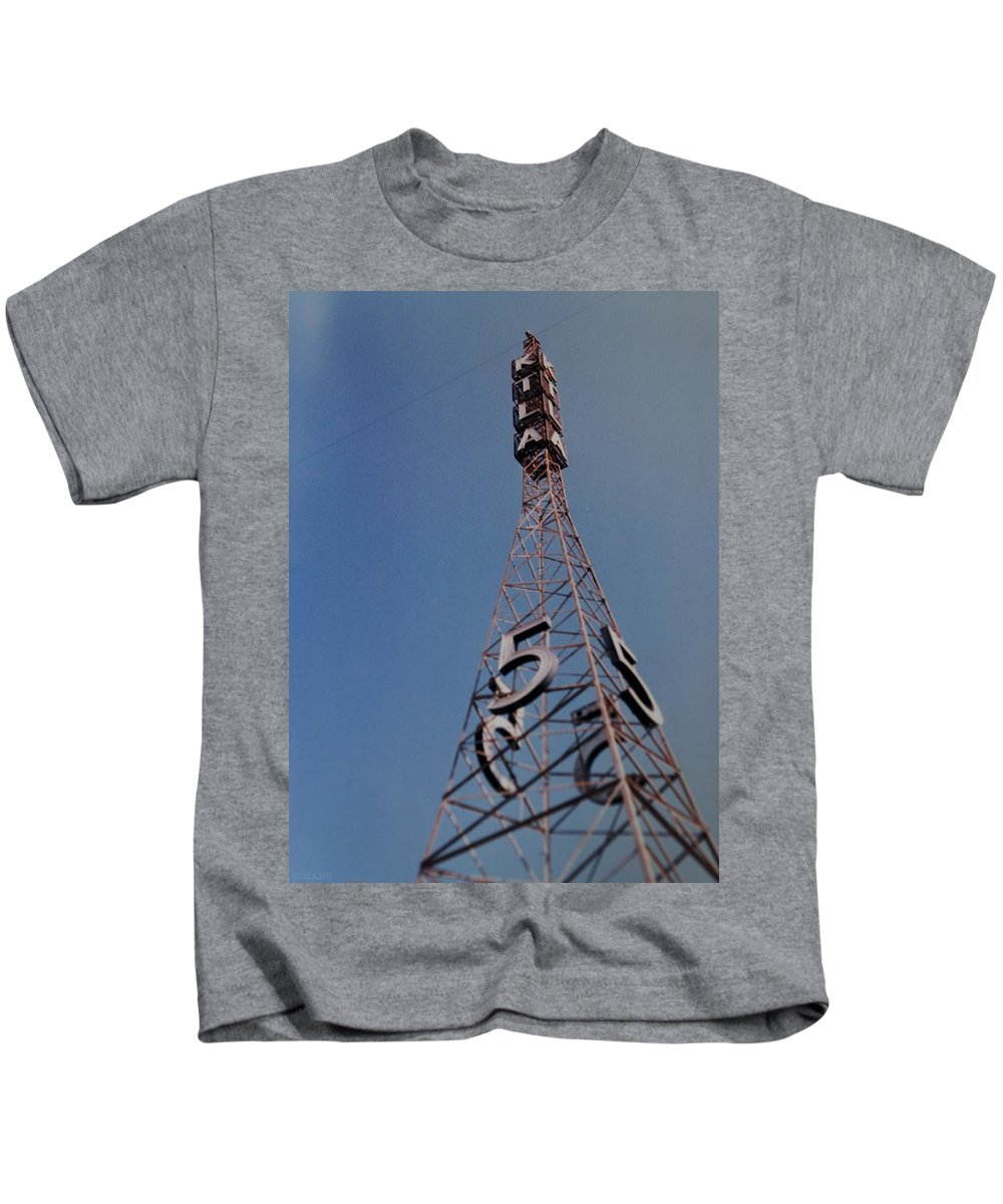 Hollywood Kids T-Shirt featuring the photograph K T L A Channel 5 by Rob Hans