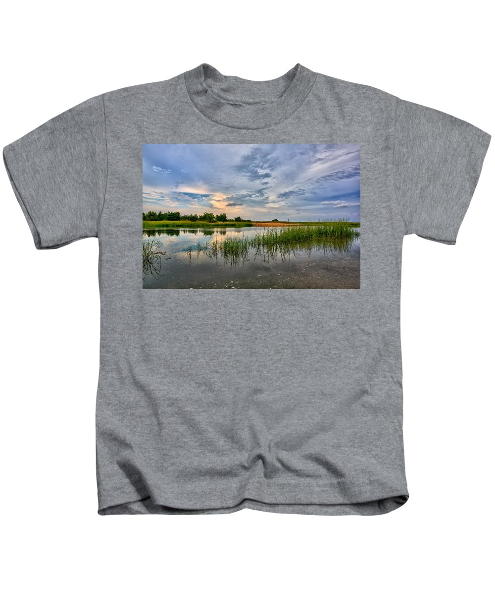Long Island Kids T-Shirt featuring the photograph Kings Park Bluffs by Rick Berk