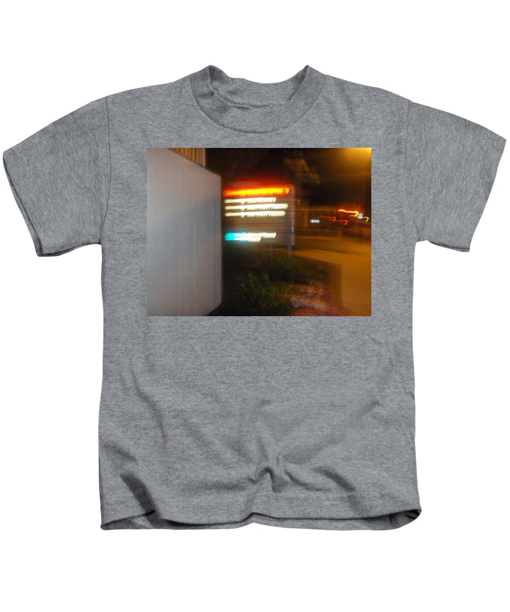 Photograph Kids T-Shirt featuring the photograph Lancaster Genral Entrance by Thomas Valentine