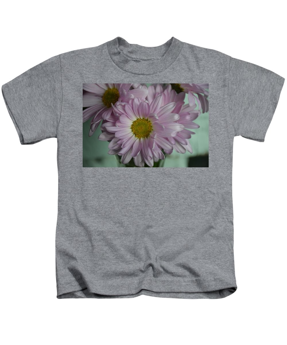 Lavender Kids T-Shirt featuring the photograph Lavender Daisy by Davis FlowerPower