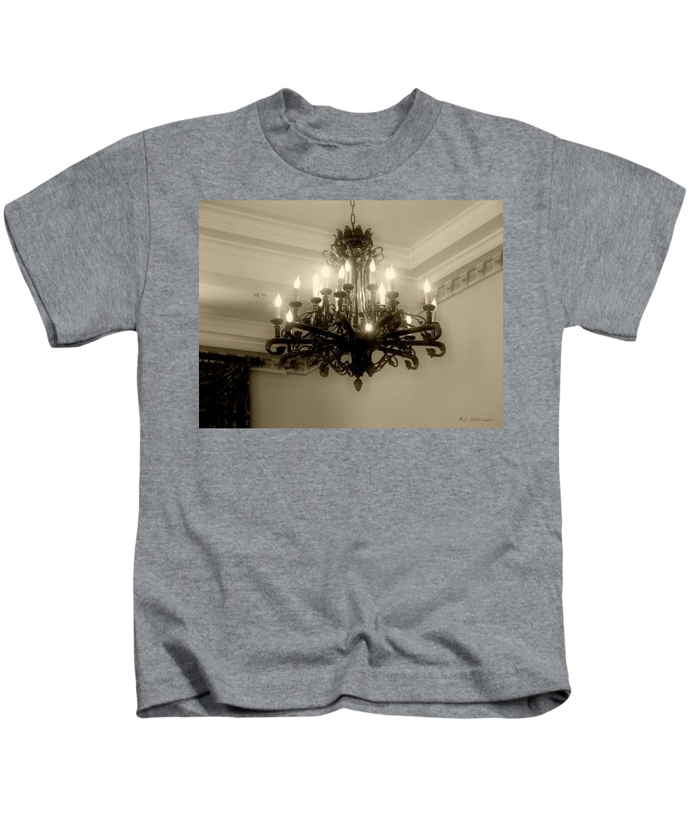 Antique Kids T-Shirt featuring the photograph Let There Be Light by RC DeWinter