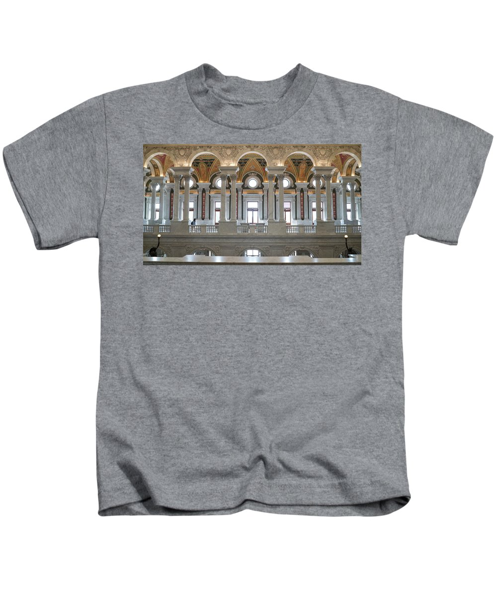 Kids T-Shirt featuring the photograph Library Of Congress IIi by Jared Windler