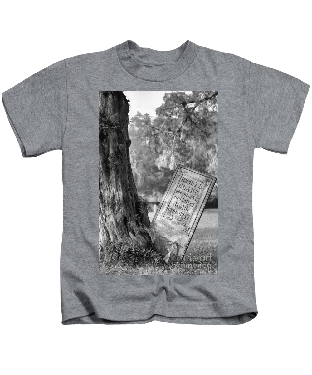 Graves Kids T-Shirt featuring the photograph Life After Death by Richard Rizzo