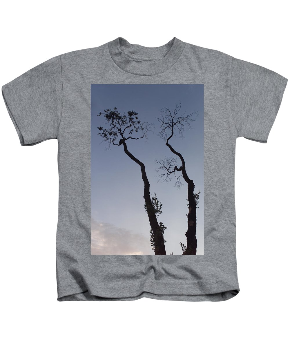 Tree Kids T-Shirt featuring the photograph Life And Death by Scott Sawyer