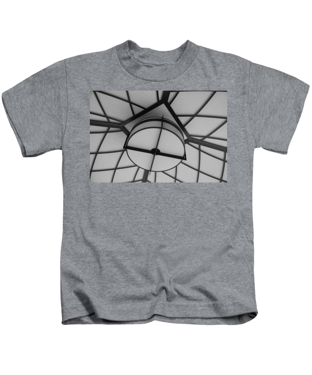 Architecture Kids T-Shirt featuring the photograph Lighted Box by Rob Hans