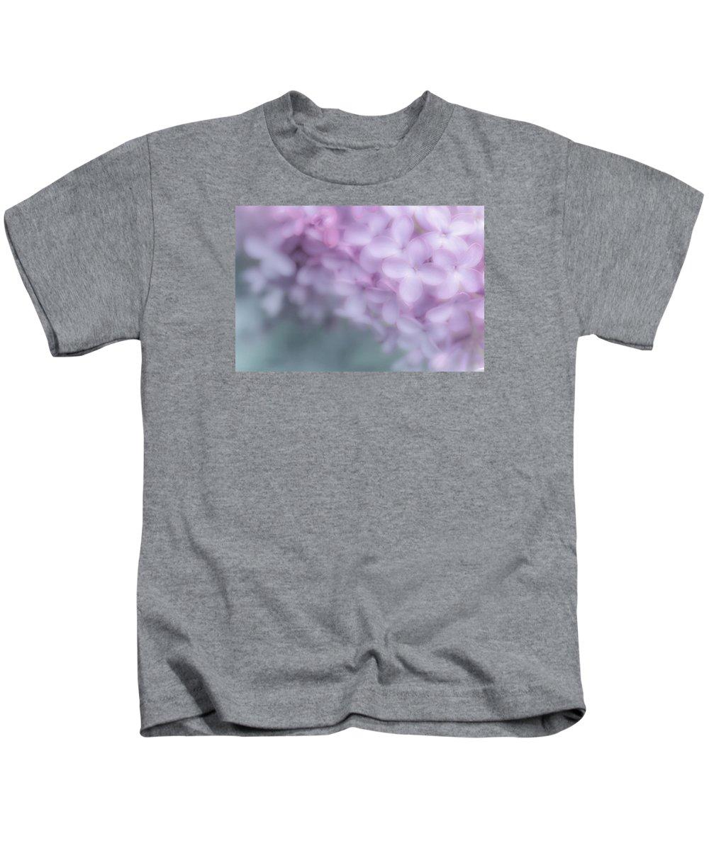 Flower Kids T-Shirt featuring the photograph Lilac Love by Joy McAdams
