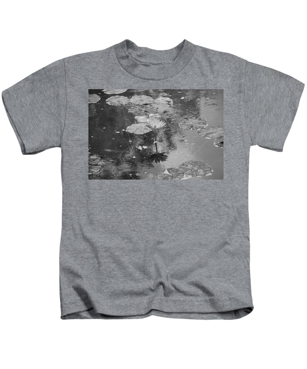 Lilly Pond Kids T-Shirt featuring the photograph Lilly Pond by Rob Hans