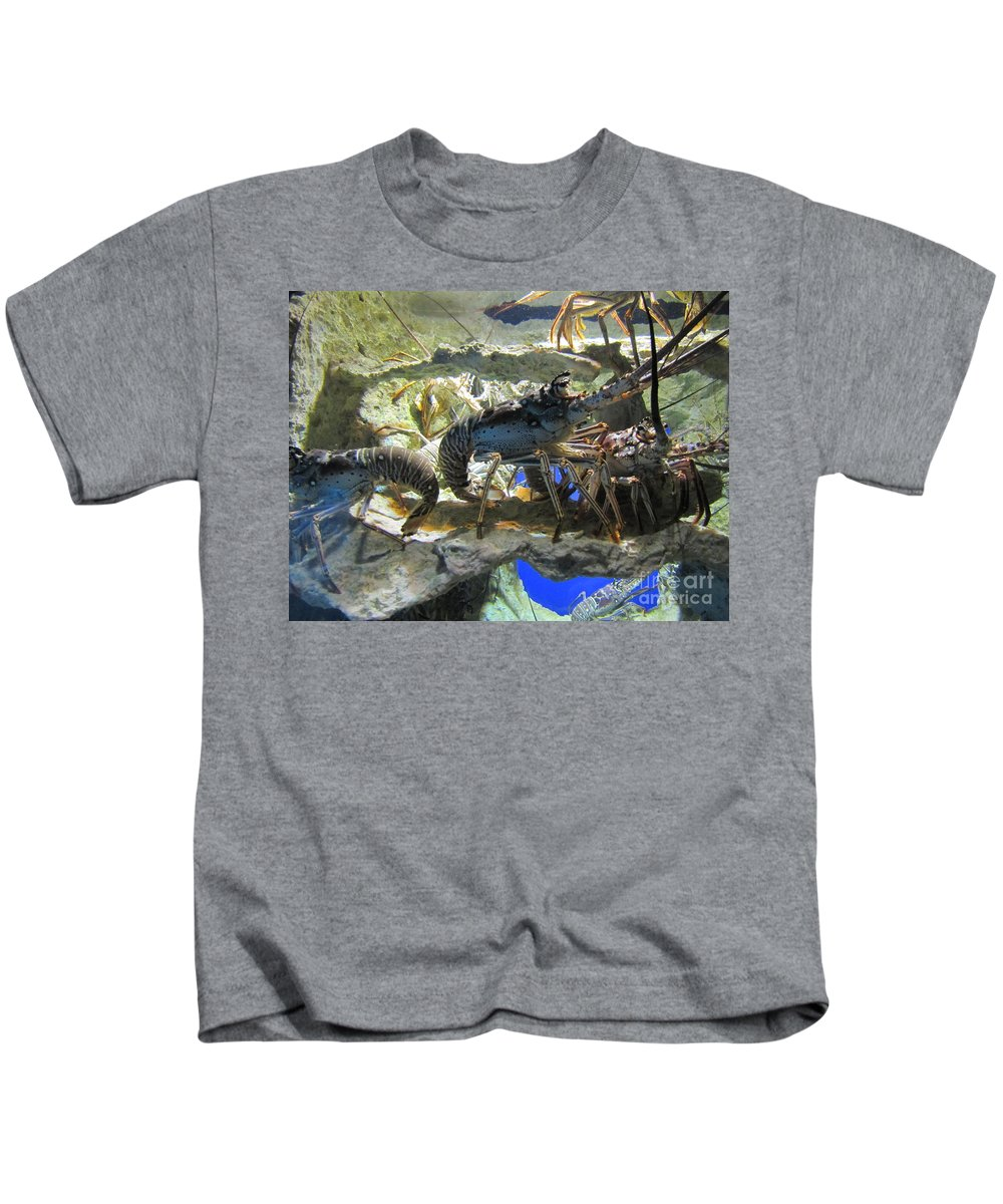 Lobster Kids T-Shirt featuring the photograph Lobster by Michelle Powell