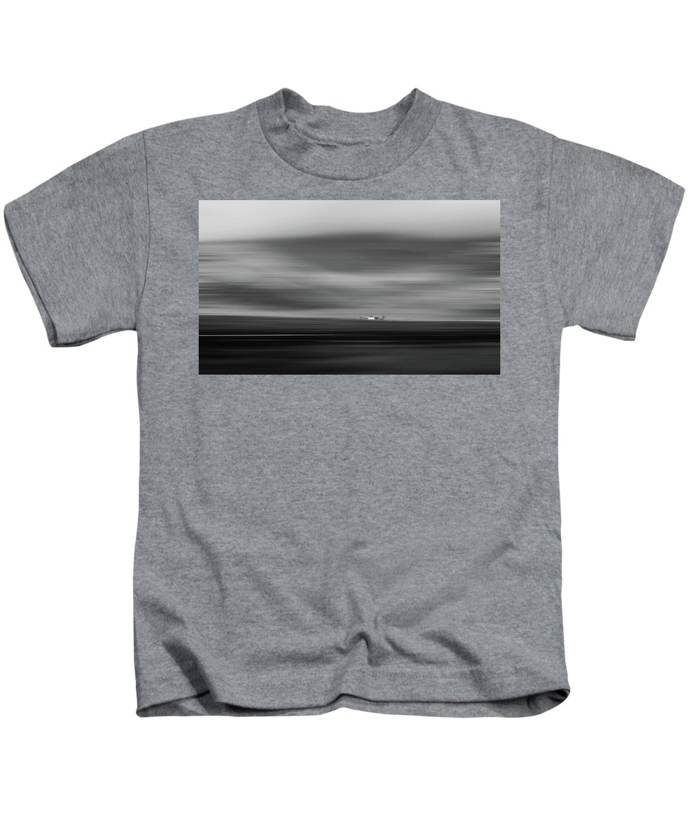 Scotland Kids T-Shirt featuring the photograph Lone House At Glencoe by Erin Donalson