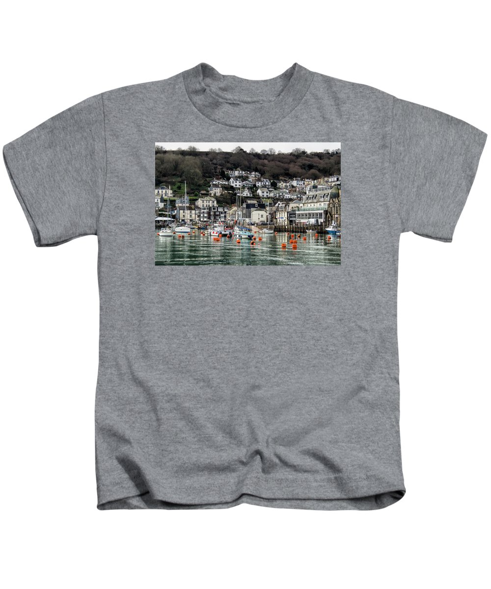 Looe Kids T-Shirt featuring the photograph Looe Harbour - Cornwall by Susie Peek