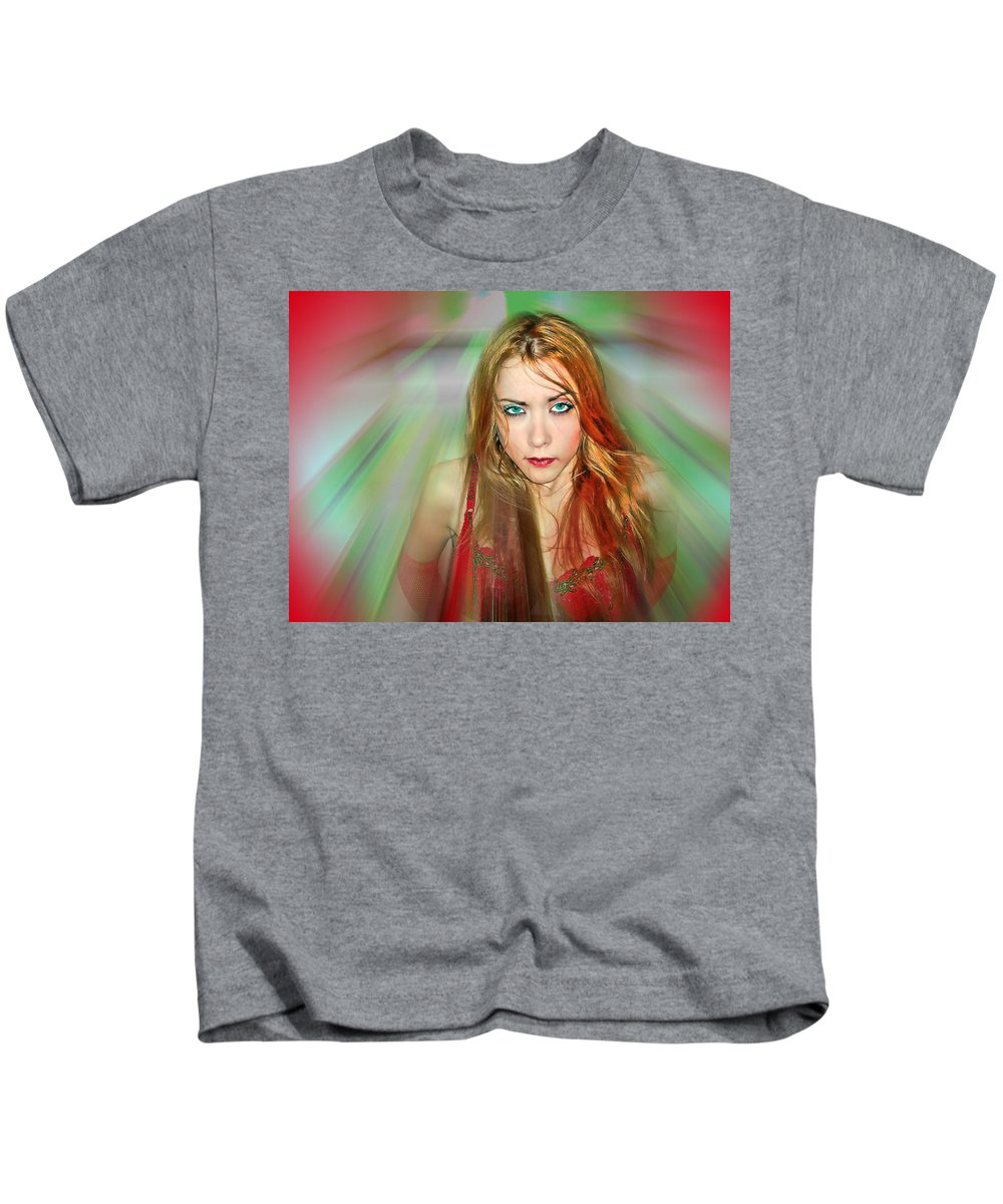 Women Kids T-Shirt featuring the photograph Looking At You by Francisco Colon