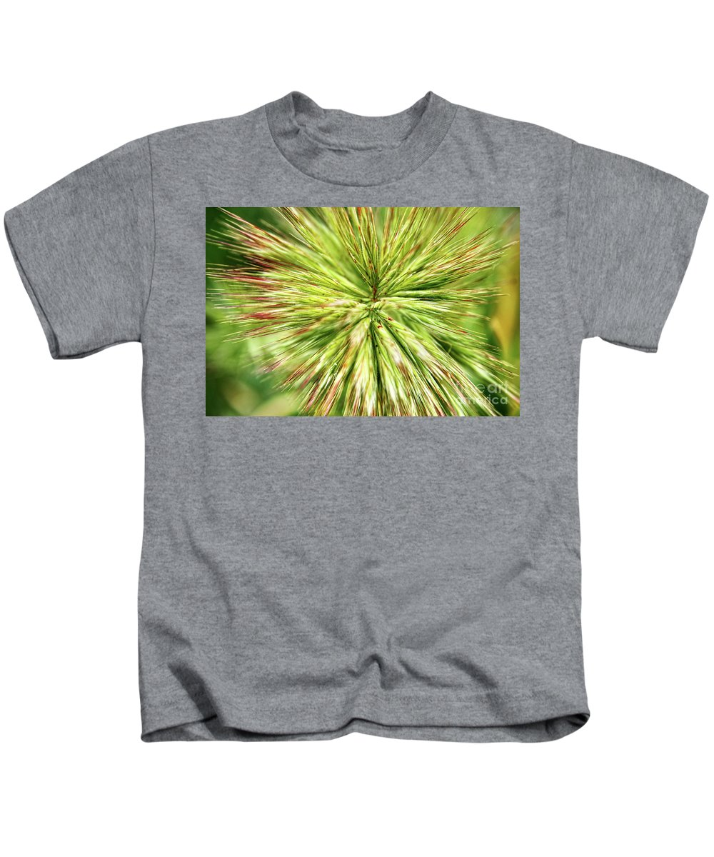 Grass Kids T-Shirt featuring the photograph Looking Into The Unknown by Mariola Bitner
