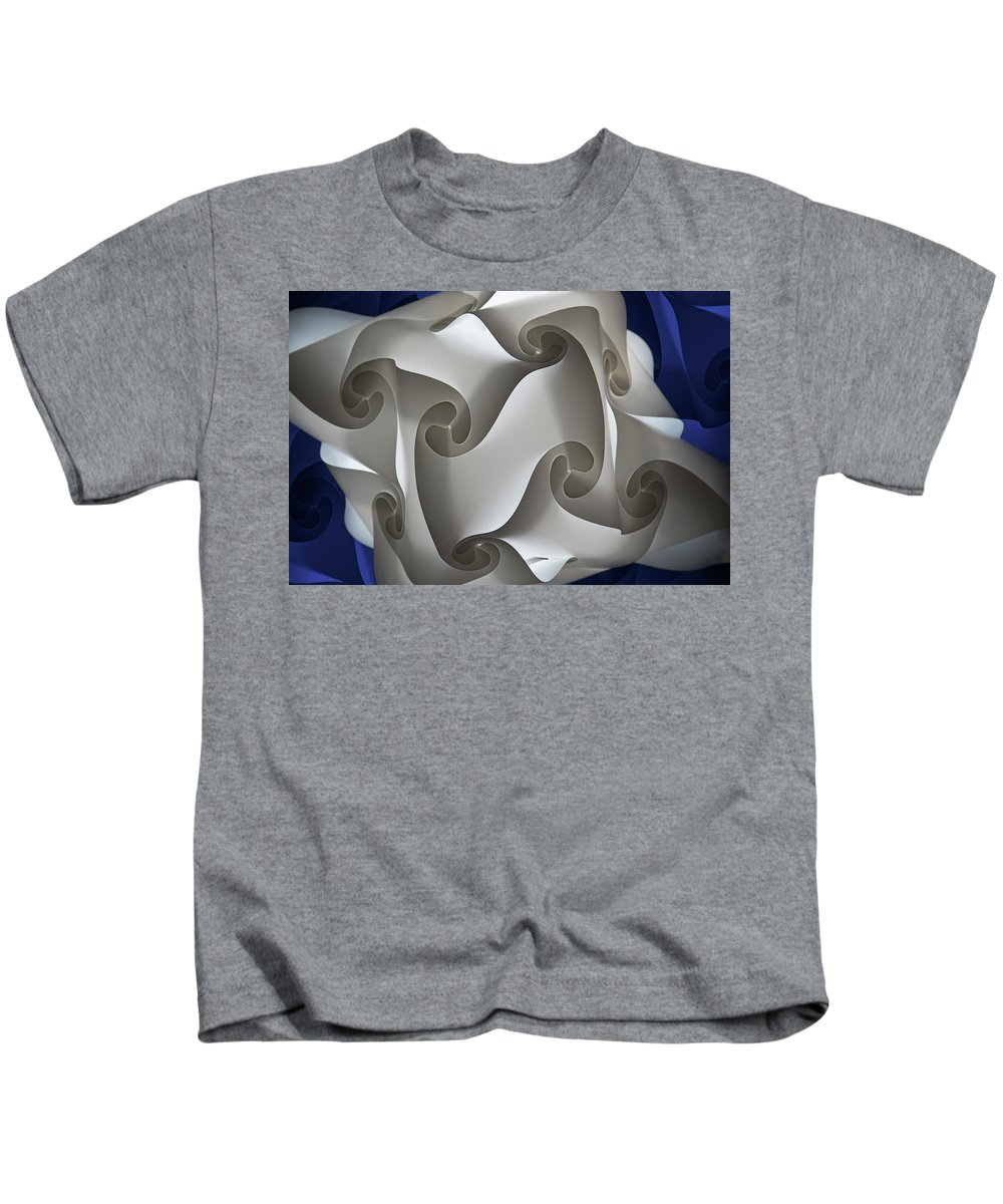 Photography Kids T-Shirt featuring the photograph Lost In A Maze by Paul Wear