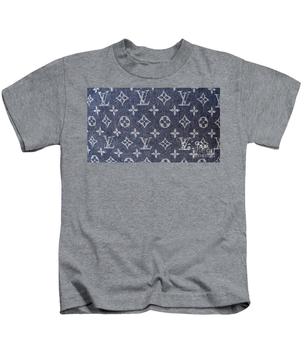 7dfc6573e0f0 Louis Vuitton Blue Jean Fabric Monogram Kids T-Shirt for Sale by To-Tam  Gerwe
