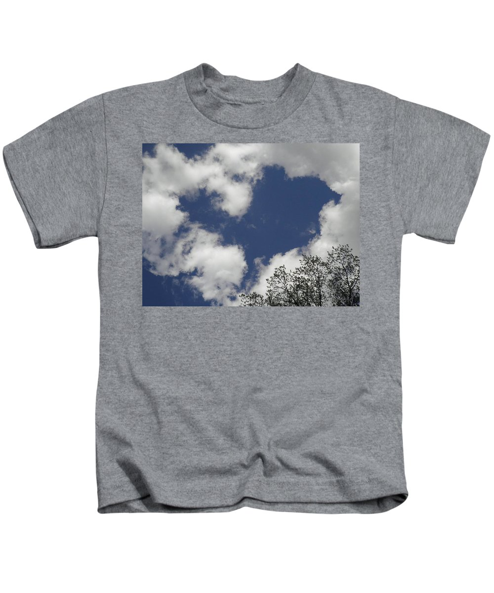 Sky Kids T-Shirt featuring the photograph Love From Above by T Cook
