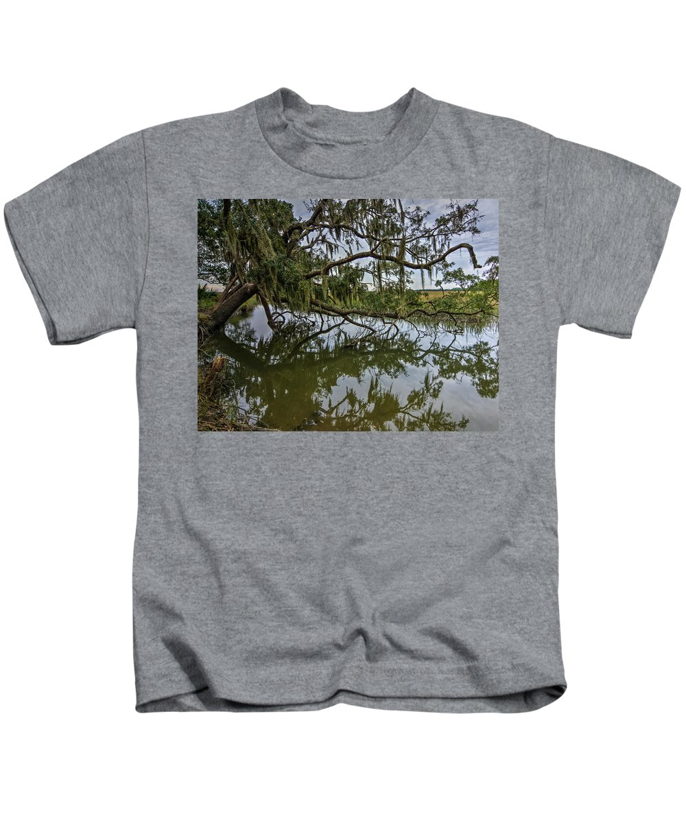 Low Country Kids T-Shirt featuring the photograph Low Country Days by Rebekah Shennan