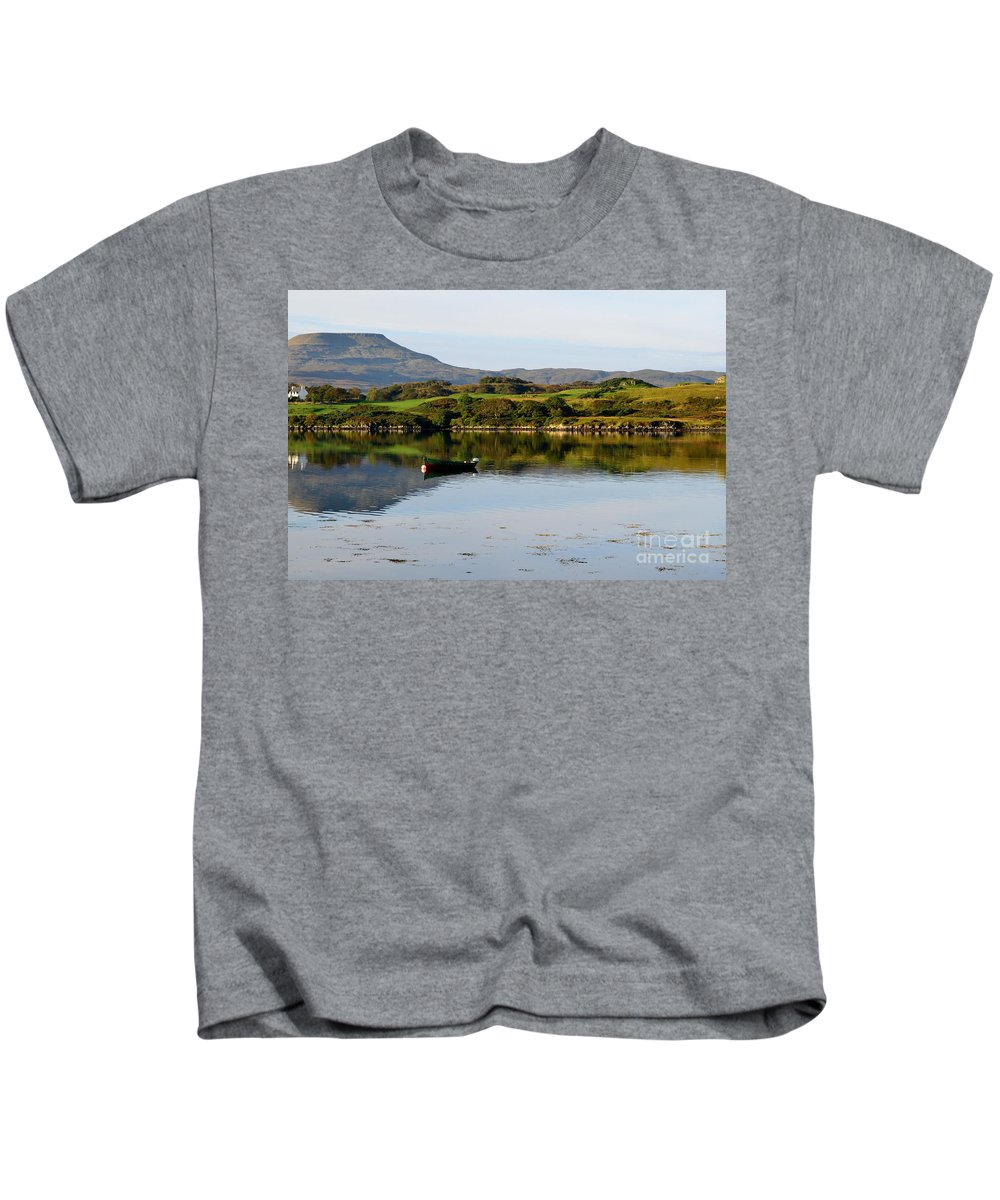 Macleods Table Kids T-Shirt featuring the photograph Macleod's Table In Scotland by DejaVu Designs