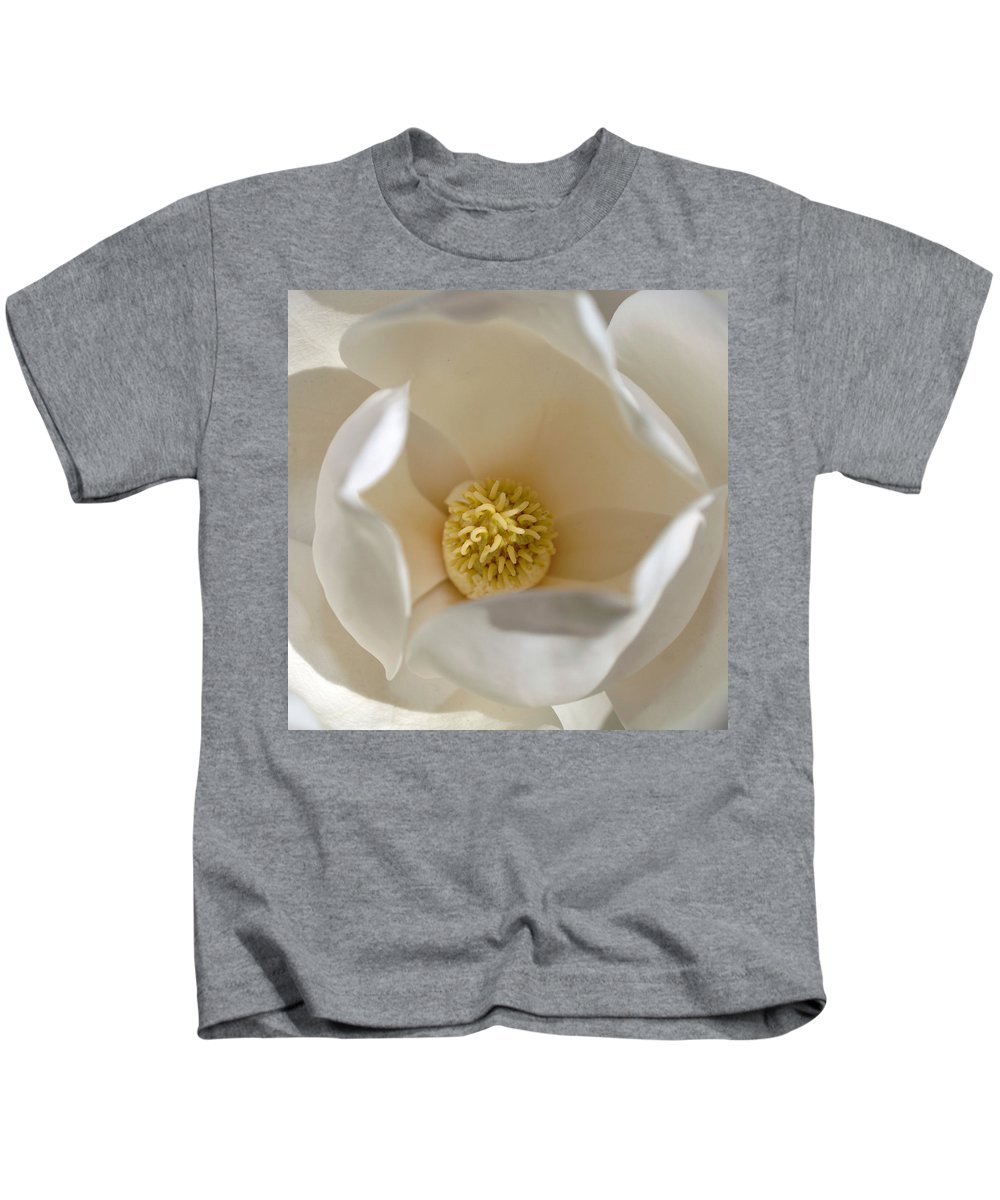Magnolia Kids T-Shirt featuring the photograph Magnolia Flower by Jill Reger