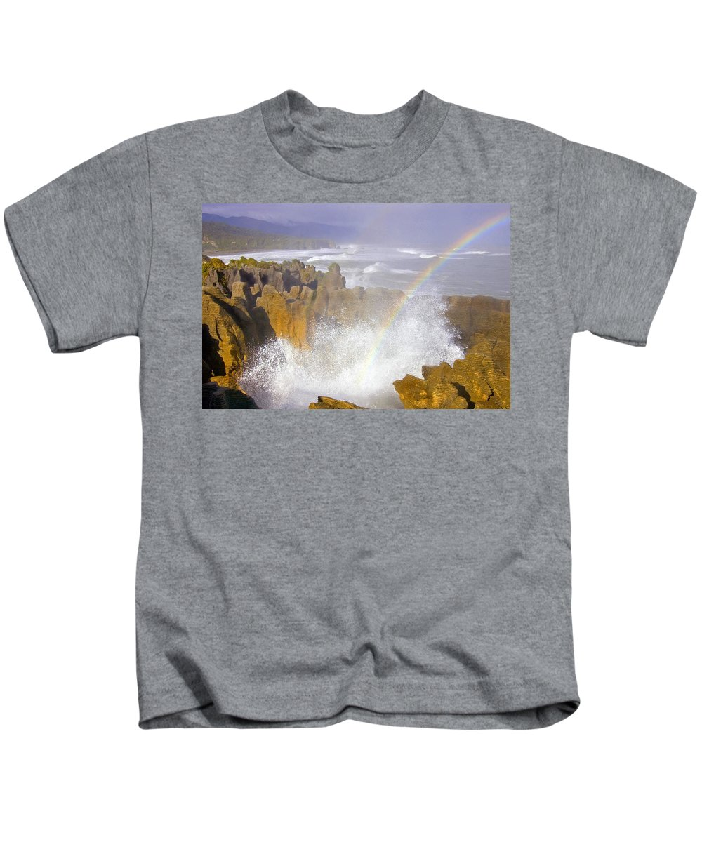 Paparoa Kids T-Shirt featuring the photograph Making Miracles by Mike Dawson