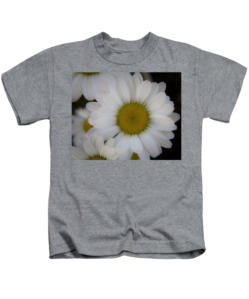 Marguerite Kids T-Shirt featuring the photograph Marguerite Daisies by Teresa Mucha