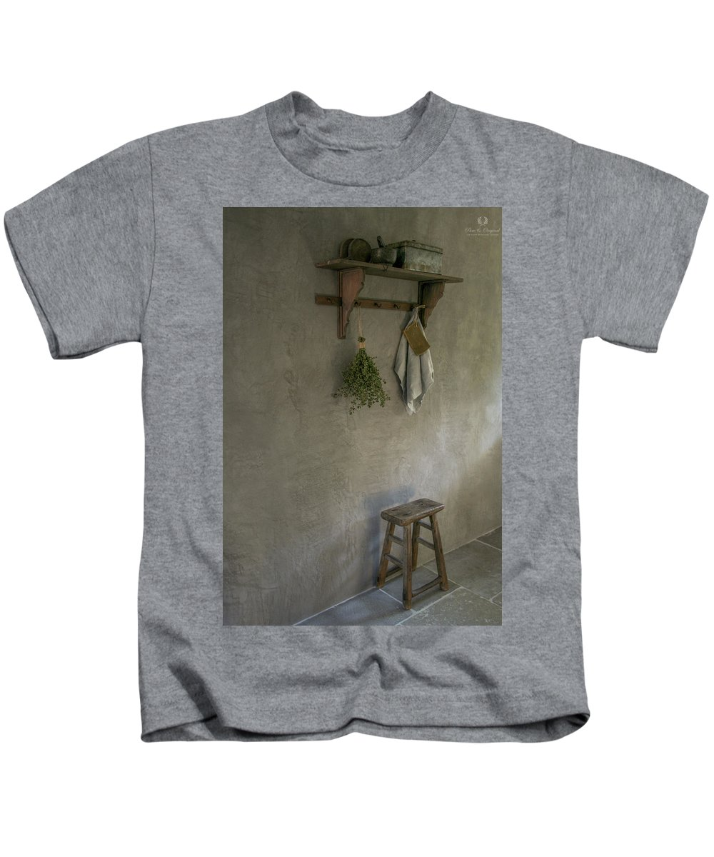 Pure & Original Marrakech Walls Colour Elephant Skin Kids T-Shirt featuring the painting Marrakech Walls by Pure Original