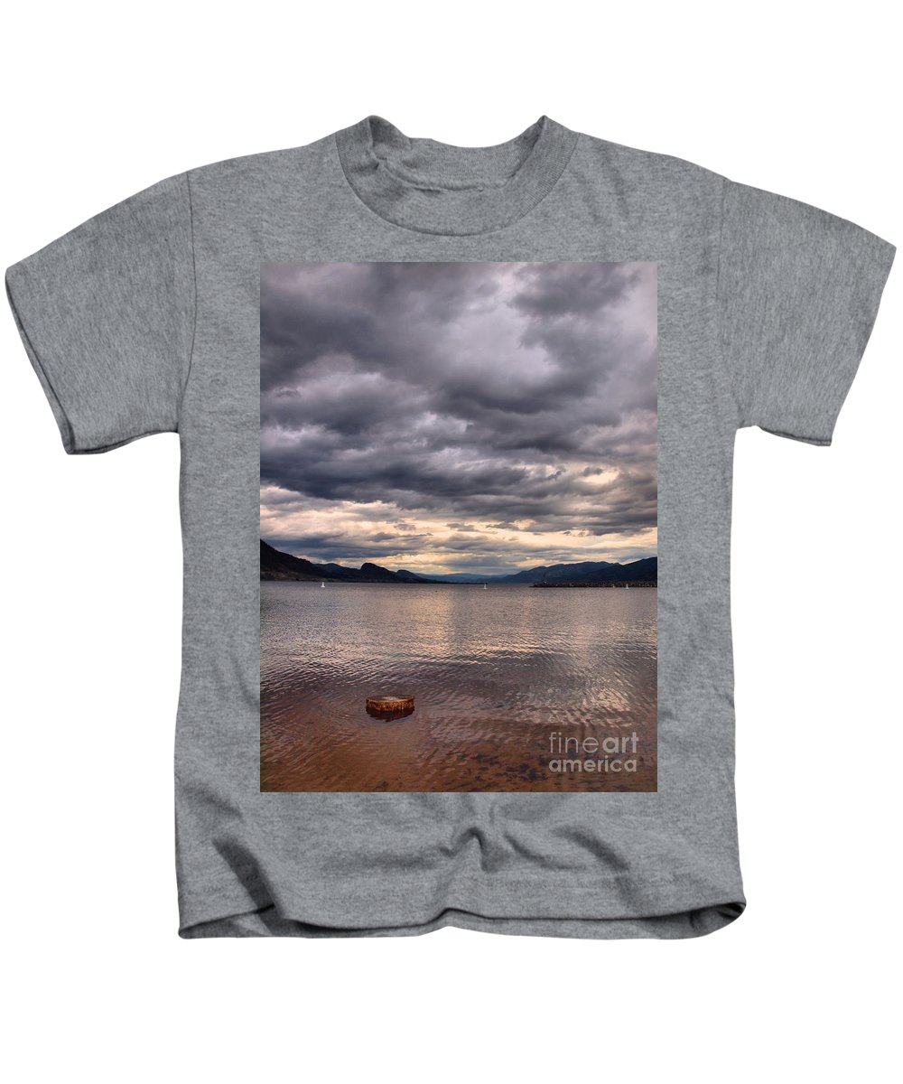 Lake Kids T-Shirt featuring the photograph May 19 2010 by Tara Turner