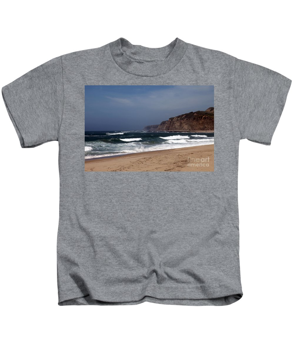 California Kids T-Shirt featuring the photograph Meeting Of The Minds by Amanda Barcon
