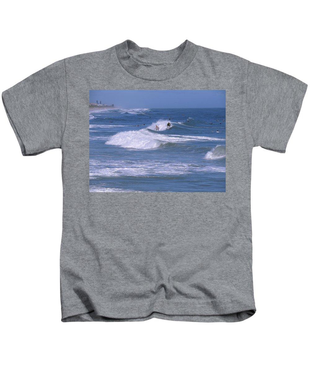 Florida Kids T-Shirt featuring the photograph Melbourne Beach Florida Usa by Allan Hughes