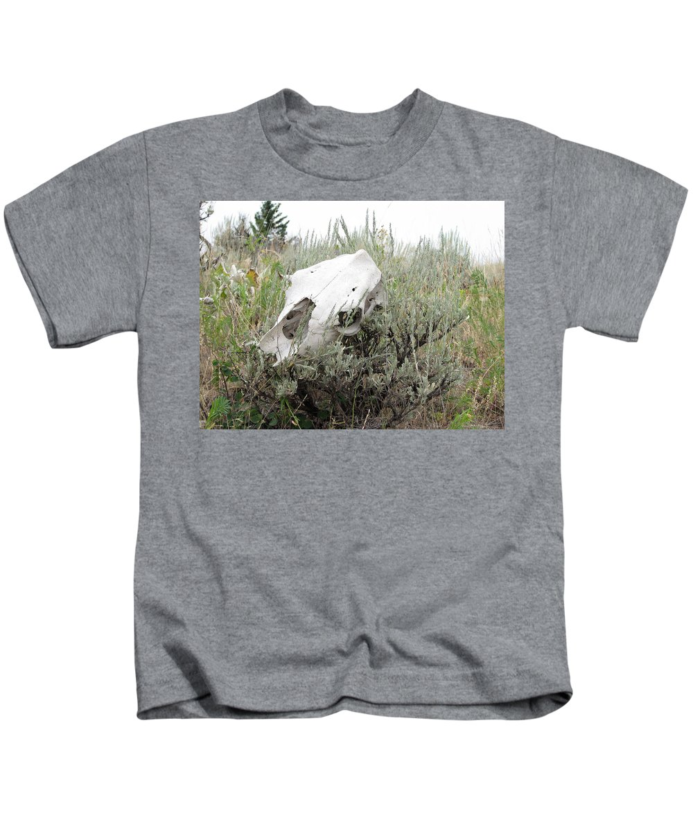 Steer Kids T-Shirt featuring the photograph Memories Past by Stacey May