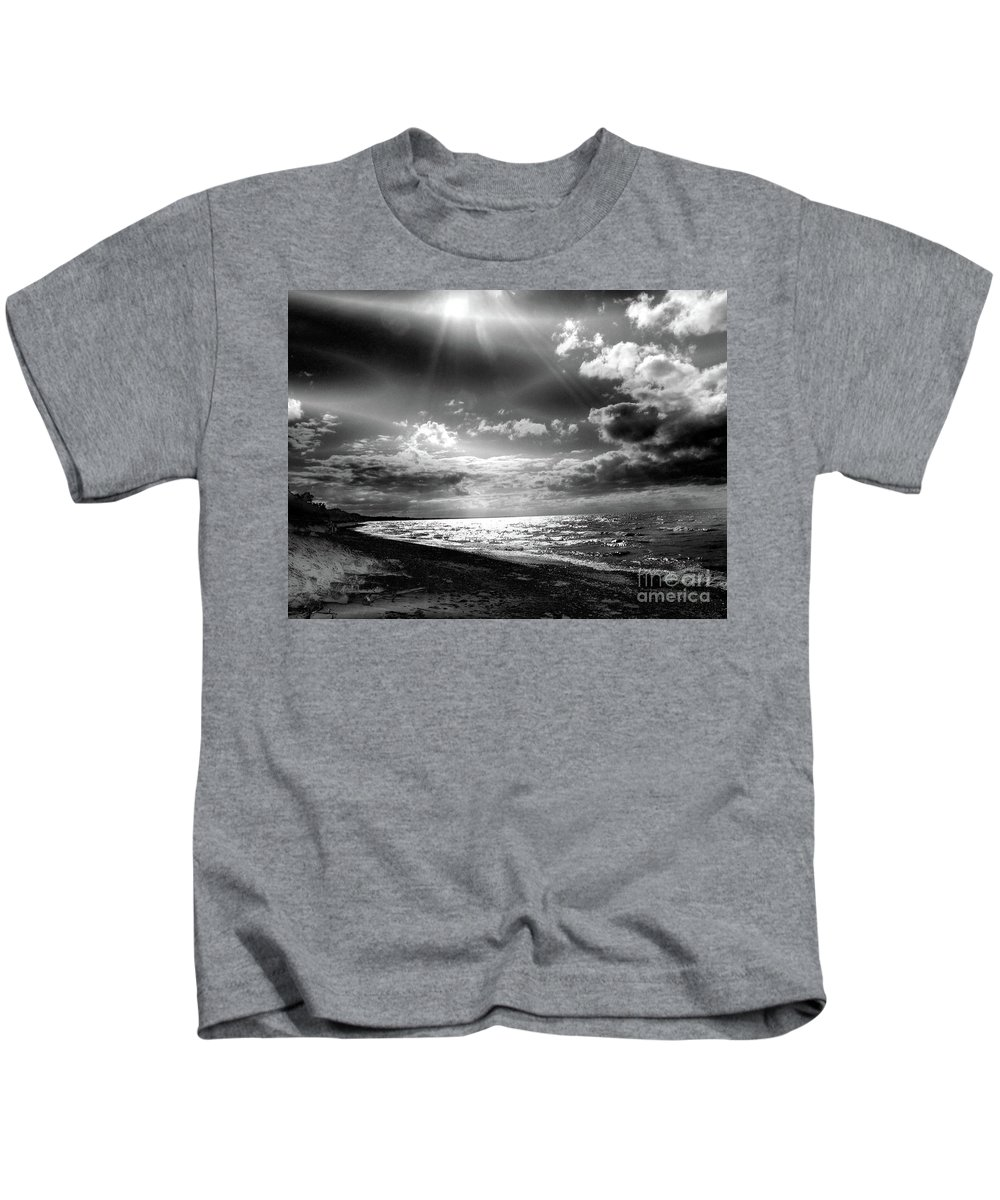 Photography Kids T-Shirt featuring the photograph Catching The Light Of A Dream by Abstract Angel Artist Stephen K