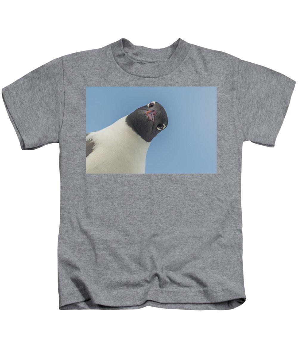 Carolina Beach Kids T-Shirt featuring the photograph Mine? by Ray Sheley