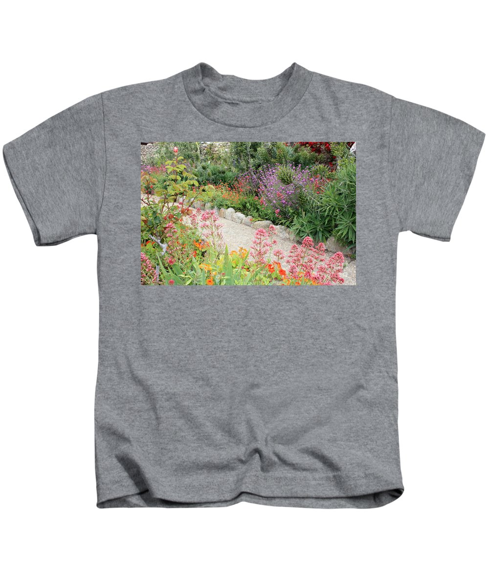 Garden Kids T-Shirt featuring the photograph Mission Garden by Carol Groenen
