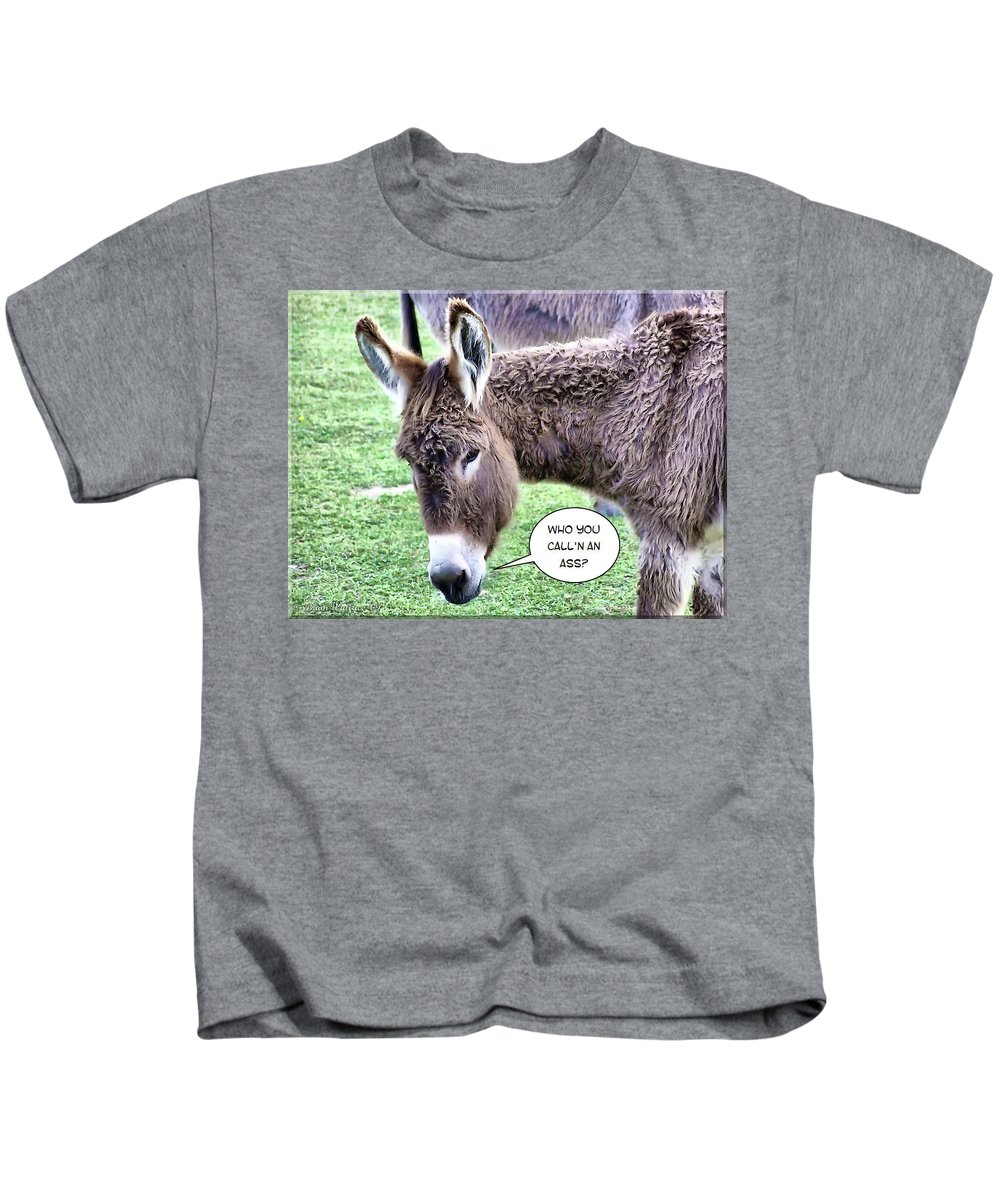 2d Kids T-Shirt featuring the photograph Mistaken Identity by Brian Wallace
