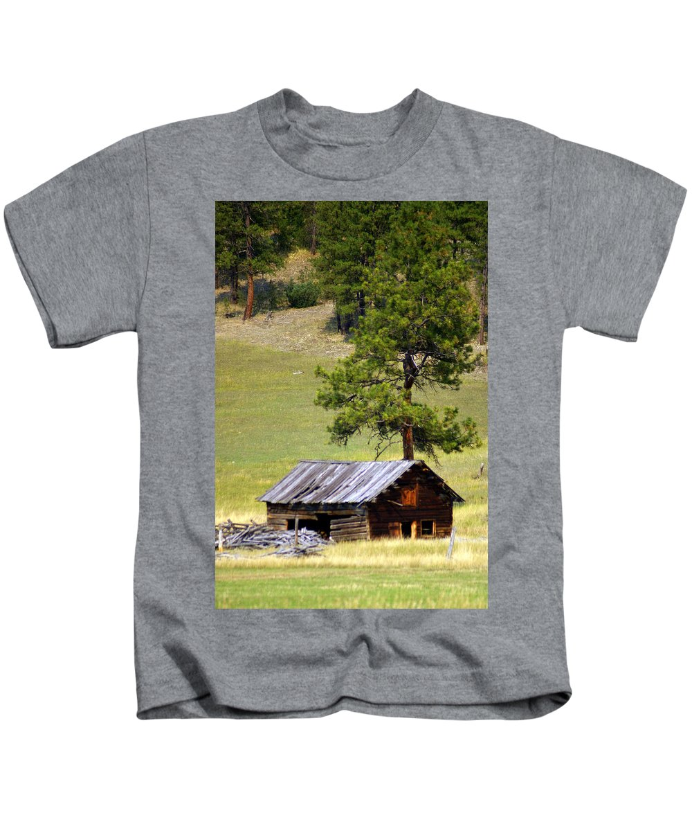Ranch Kids T-Shirt featuring the photograph Montana Ranch 2 by Marty Koch