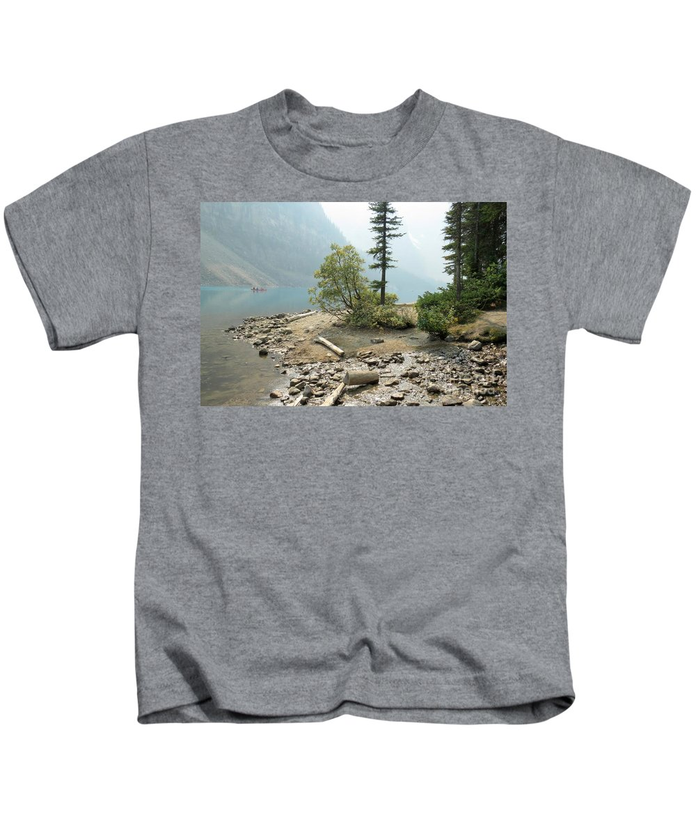 Lake Kids T-Shirt featuring the photograph Moraine Shores by Frank Townsley