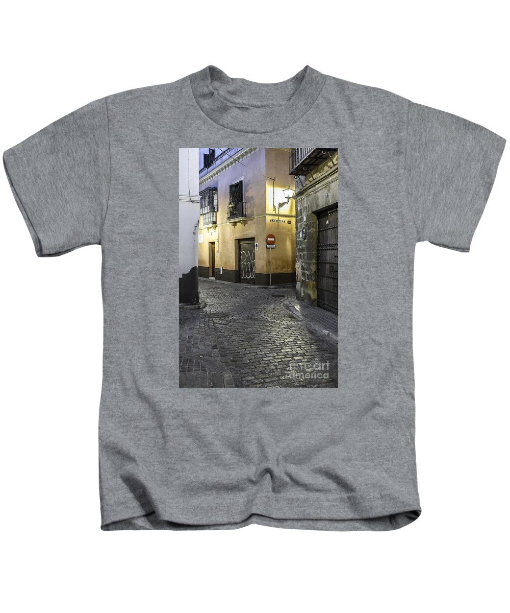 Seville Kids T-Shirt featuring the photograph Morning In Seville by Lasse Ansaharju