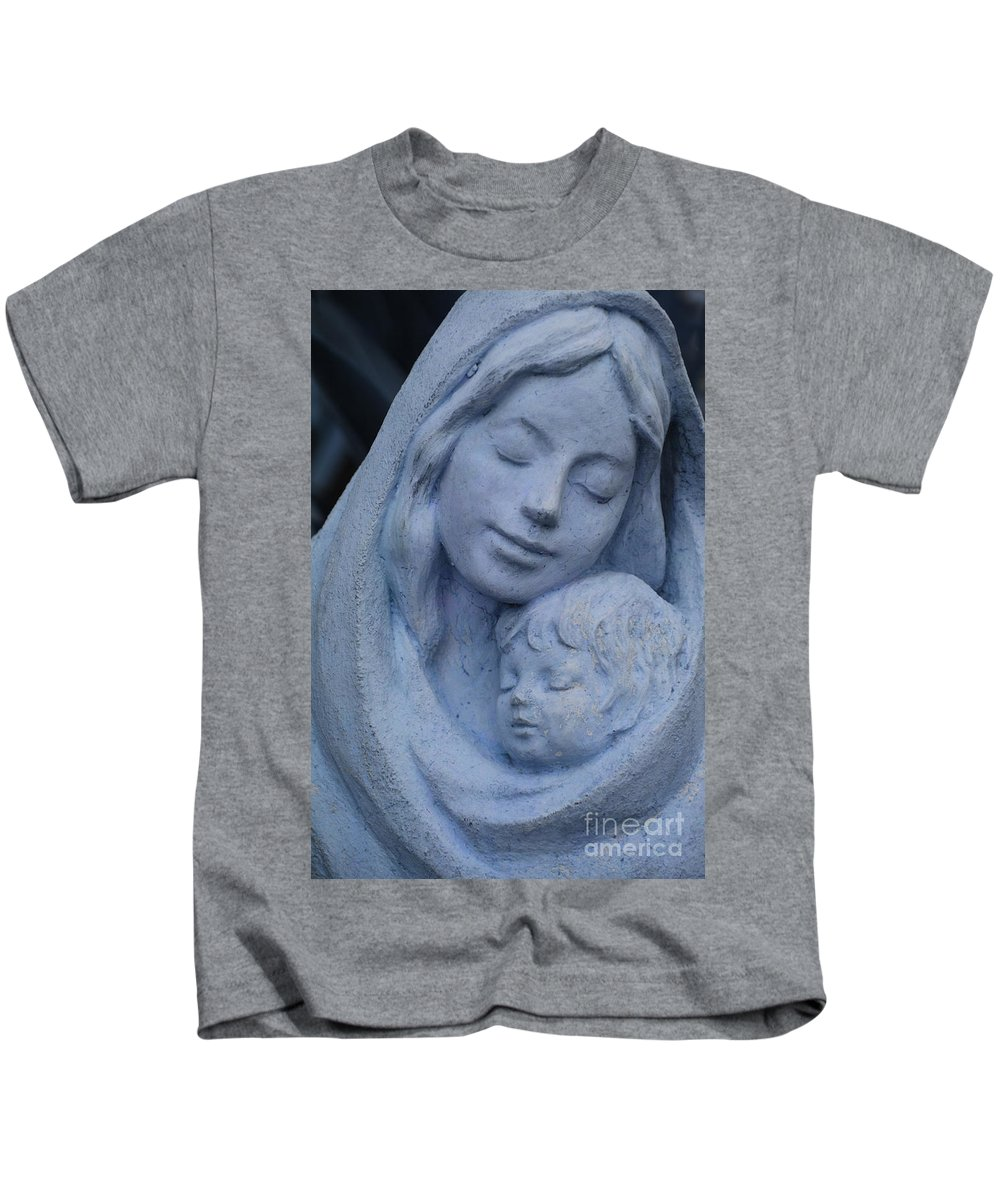 Mother Kids T-Shirt featuring the photograph Mother And Child by Susanne Van Hulst